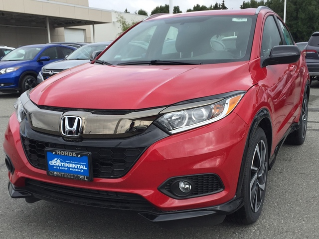 Schedule a test drive in this 2019 {make HR-V