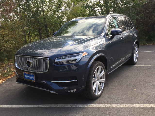 Schedule a test drive in this 2019 {make XC90