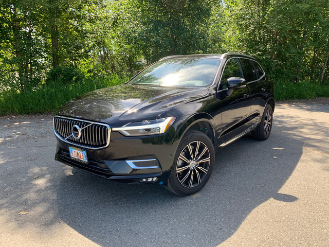 Schedule a test drive in this 2018 {make XC60